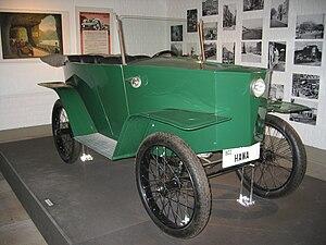 Hannoversche Waggonfabrik - Hawa electric car 1922
