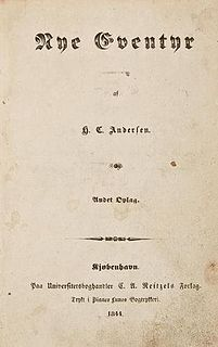 <i>New Fairy Tales</i> (1844) book by Hans Christian Andersen