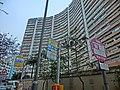 HK 北角半山 North Point Mid-Levels 雲景道 60 Cloud View Road 峰景大廈 Hilltop Mansion Apr-2014 KMBus 108 stop signs.JPG