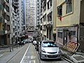 HK 北角 North Point 明園西街 Ming Yuen Western Street outside car park May-2012.JPG
