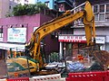 HK 香港 西環 Sai Ying Pun 正街 Centre Street construction site Nov-2011 Ip4.jpg