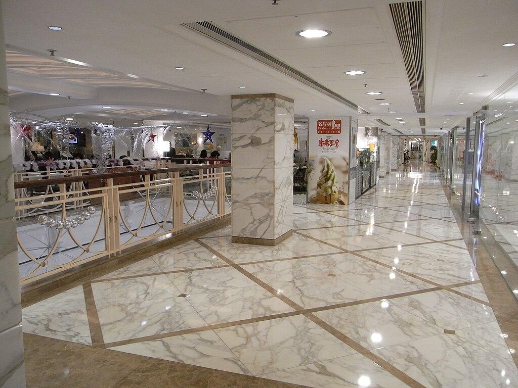 FileHK CWB Fashion Walk 1st Floor Lobby Marble Floorjpg