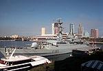 HMS Avenger (F185) at Tampa Bay 1992.JPEG
