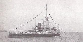 Conqueror-class ironclad - Image: HMS Conqueror (1881)