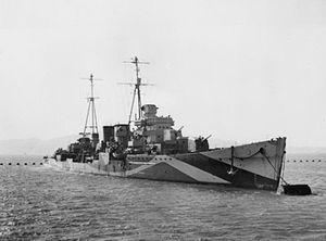 Danae-class cruiser - HMS Delhi (D47)