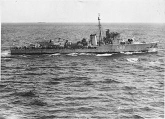 MTSM motor torpedo boat - HMS Eridge