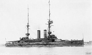 HMS Prince of Wales (1902) - Image: HMS Prince of Wales (1902) in 1912 2