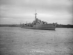 HMS Whirlwind (R87) - Image: HMS Whirlwind (D30)