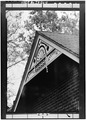 HOUSE, SOUTH GABLE DETAIL - Ben Schroeder Saddle Tree Company, 106 Milton Street, Madison, Jefferson County, IN HAER IND,39-MAD,43-11.tif