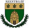 Huy hiệu của Szentegát