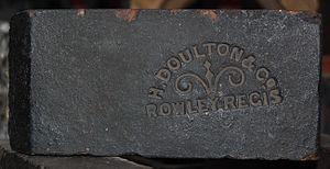 Rowley Regis - Image: H Doulton Rowley Regis brick