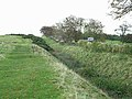 Hadrian's Wall National Trail, Roman ditch and Military Road - geograph.org.uk - 1023567.jpg