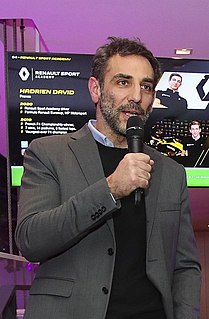 Cyril Abiteboul French motor racing engineer and manager