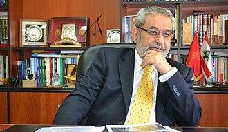 2018 Lebanese general election - Tashnaq leader Hagop Pakradounian