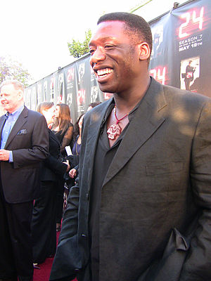 Hakeem Kae-Kazim - Kae-Kazim at a 24 screening event in Los Angeles (2009)