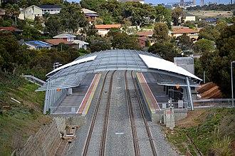 Hallett Cove Beach railway station - Image: Hallett Cove Beach Railway Station Adelaide