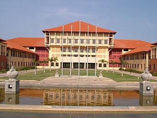 Hambantota Town in Southern Province, Sri Lanka