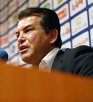 Hamid Estili - Estili in press conference