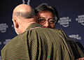 Hamid Karzai, Pervez Musharraf - World Economic Forum Annual Meeting Davos 2008.jpg