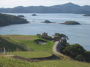 16th Hole Hamilton Island Golf Club
