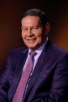 Hamilton Mourão, vice-president van Brasil.jpg