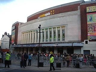 Hammersmith Apollo Live entertainment venue in Hammersmith, London