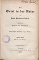 Hans Christian Ørsted, Der Geist in der Natur, 1854.tiff