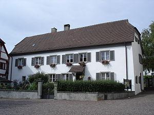 Heinrich Hansjakob - Hansjakob's house in Hagnau am Bodensee
