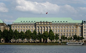 Hapag-Lloyd - Headquarters of Hapag-Lloyd in Hamburg