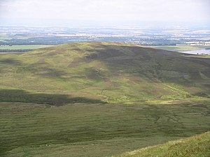 View from West Kip on Hare Hill