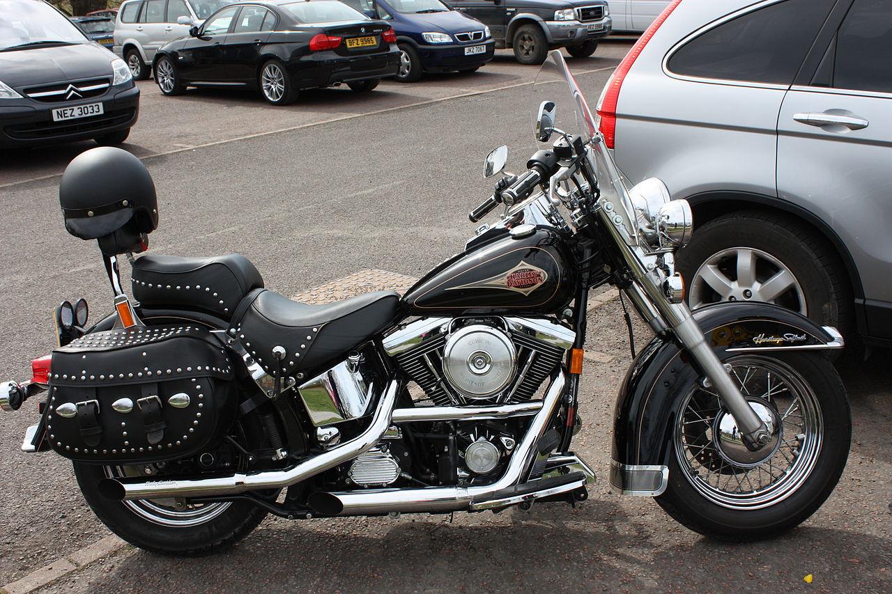 Harley Davidson Heritage Softail Font