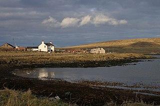 Haroldswick Human settlement in Scotland