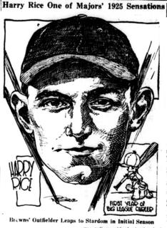 Harry Rice American baseball player