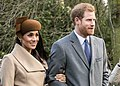 Harry and Meghan on Christmas Day 2017 (cropped).jpg