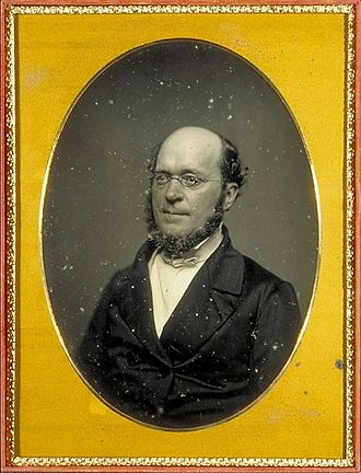 Henry James Sr. - Henry James Sr., circa 1855