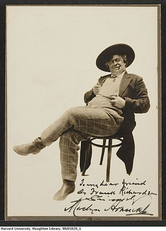 The County Chairman (play) - Maclyn Arbuckle as Hon. Jim Hackler in the play (circa 1904)