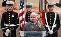 Harvey C. Barnum speaking at a ceremony for Cpl. Jason L. Dunham (070112-D-1142M-015).jpg