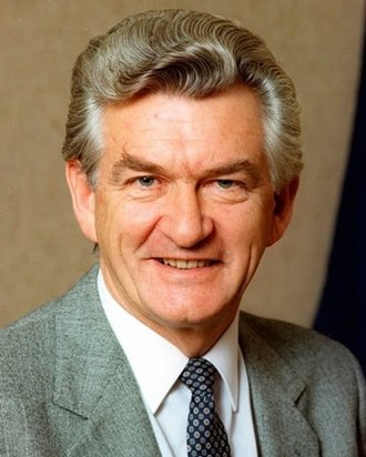 1987 Australian federal election - Image: Hawke Bob BANNER