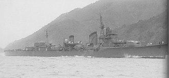 Japanese destroyer Hayashimo - Hayashimo