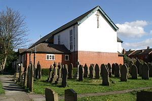 Church of St James the Great, Haydock - Image: Haydock Saint James' Parish Church