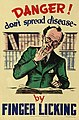 Health Poster 'Danger don't spread disease' (15590284219).jpg