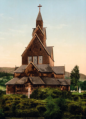 Hitterdals Church, Telemark, Norway