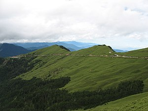 Nantou County - Hehuanshan is one of the higher mountains in Nantou County.