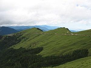 Nantou County - Hehuanshan is one of the higher mountains in Nantou County.
