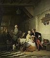 Herberginterieur met figuren in zeventiende-eeuws kostuum. Rijksmuseum SK-C-281.jpeg