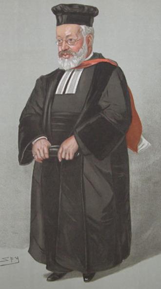 Hermann Adler - Adler caricatured by Spy for Vanity Fair, 1904