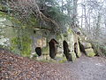Hermits Cave (The Hermitage), Hermits Wood, Dale Abbey, Derbyshire - East Midlands of England.jpg