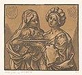 Herodias en Salome met het hoofd van Johannes de Doper, RP-P-1958-149.jpg