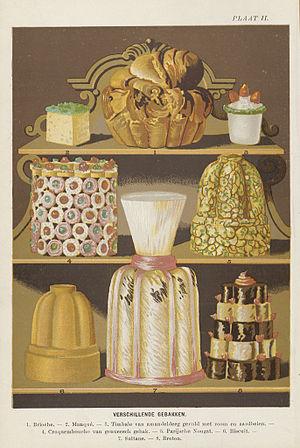 Jules Gouffé - Pastries based on Gouffé's recipes