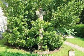 croix du cimetière d'Heuland